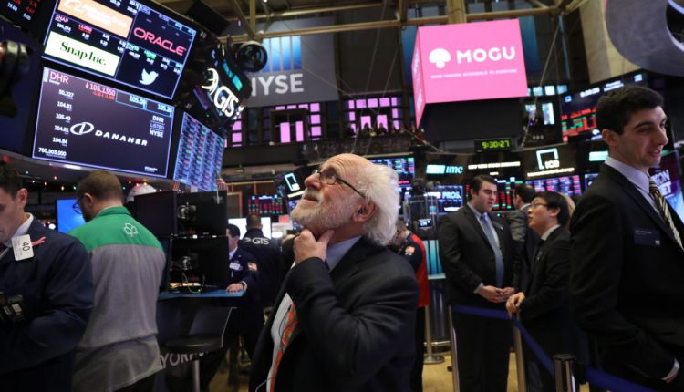 Stocks On NYSE Open Fall Over 400 Points After Opening Bell