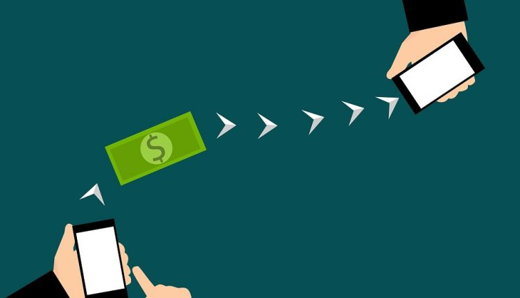 initiating money transfer