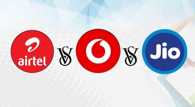 Airtel vs. Jio vs. Vodafone Idea